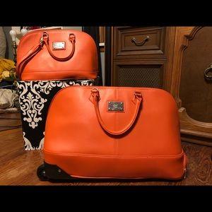 Designer luggage bundle
